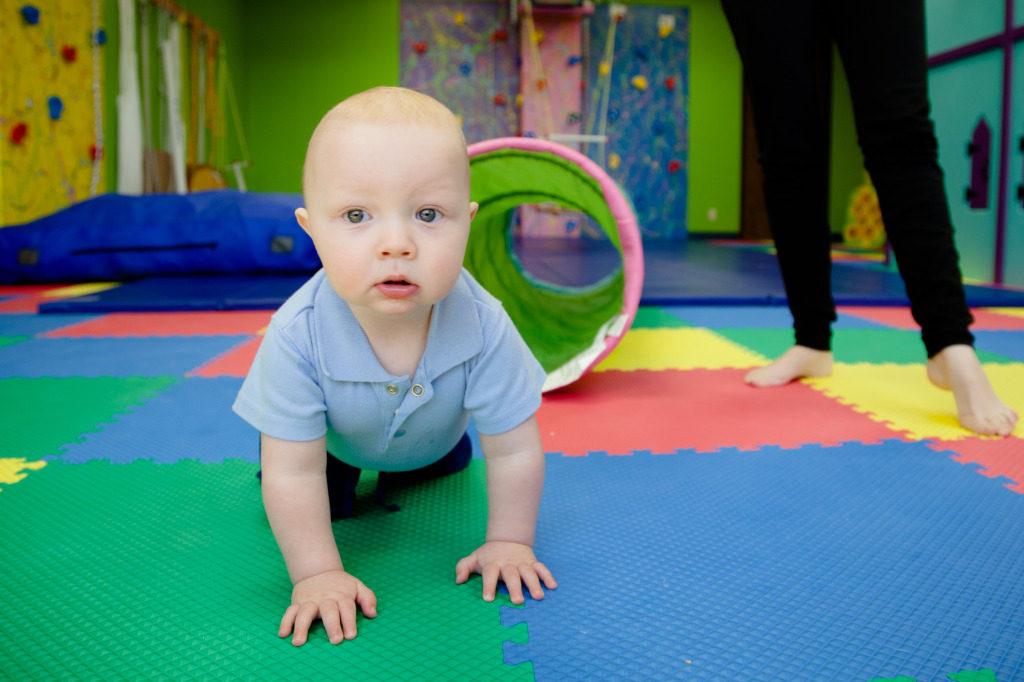 Baby in OT Gym